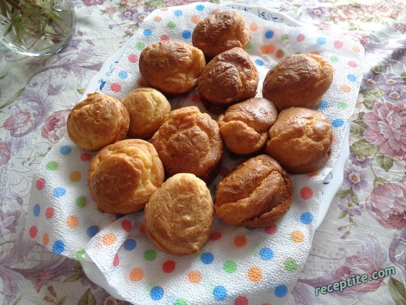 Снимки към Солени мъфини със сирене