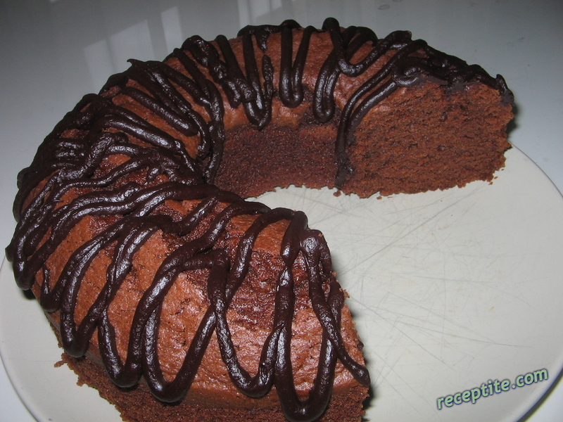 Снимки към Шоколадово-портокалов кекс