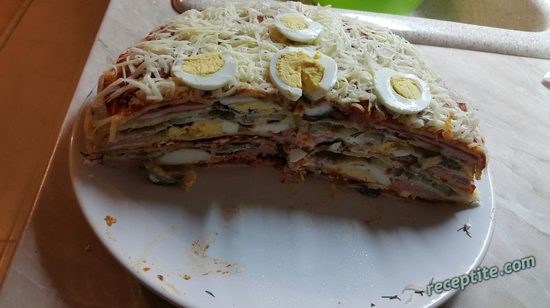 Снимки към Рошава палачинкова торта