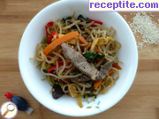 Корейски нудъли - Korean Japchae