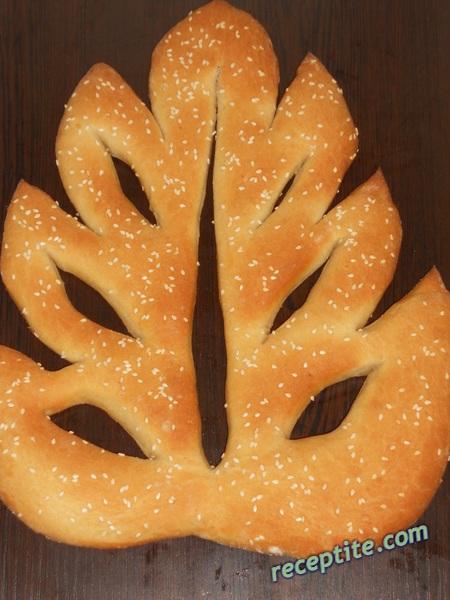 Снимки към Френски плосък хляб Фугас (Fougasse)