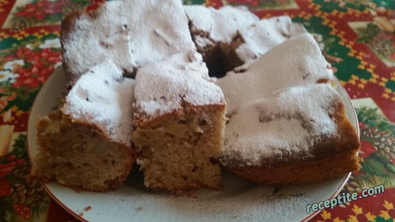 Снимки към Сладкиш с канела и ябълки