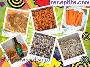 снимка 3 към рецепта Пилешки филета с гъби и моркови на фурна