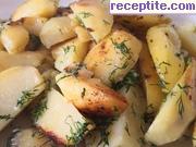 снимка 7 към рецепта Задушени пресни картофи с масло